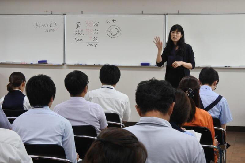 起業の講演の講師